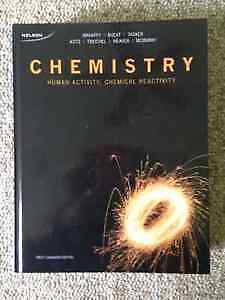Chemistry: Human Activity, Chemical Reactivity - 1st Canadian Ed Peterborough Peterborough Area image 1
