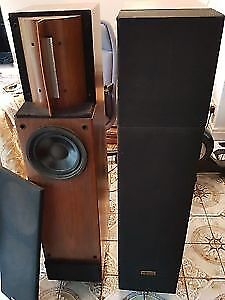 Rare Clements Speakers.