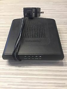 Thomson Cable Modem: DCM476-downtown