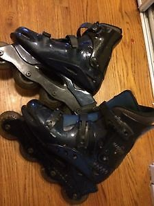 like-new rollerblades size 8 mens