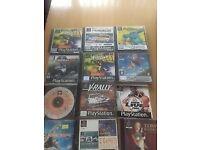 PlayStation 1 games Joblot