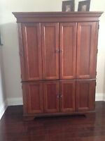 Ultimate Home Office Armoire by Hooker Furniture - Solid Wood