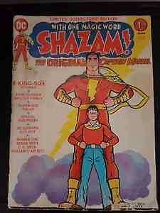 "Shazam ""The Original Captain Marvel"" 1973"