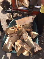 Need your firewood cut / split / piled