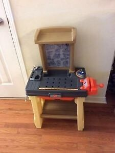 Kids/Toddler Boys Toy Workbench/Tool Bench for Sale