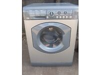 65 Hotpoint WDL540 7kg 1400 Spin White Sensor Drying Washer/Dryer 1 YEAR GUARANTEE FREE DEL N FIT