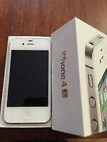 VERY NICE IPHONE 4S ROGERS AND CHATR 16GB