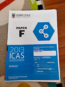 ICAS Papers A B C D E F G (Year 3 to Year 9)