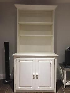 REDUCED kitchen pantry cabinet/bookcase