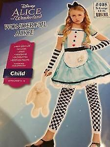 Girl's Alice and Wonderland costume size 14