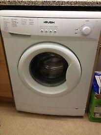 Bush A126Q 6kg 1200 Spin White A+ Rated Washing Machine 1 YEAR GUARANTEE FREE FITTING