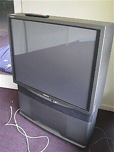 Rear projection Samsung TV