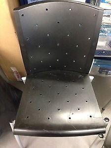 4 x Stackable Visitor ChairsOffice ChairsBlackin Basingstoke, HampshireGumtree - 4 x Stackable Visitor Chairs / Office Chairs Black Good condition just need a wipe over Collection from Basingstoke rg22