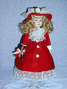10 Dolls..Genuine Porcelain..exc Condition..fr smoke free home