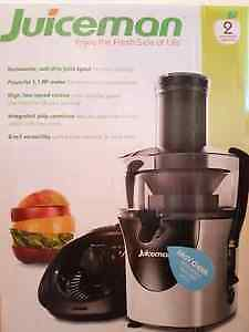 Juiceman 2-in-1 Juice Extractor/Citrus Juicer JM8000S Brand New!