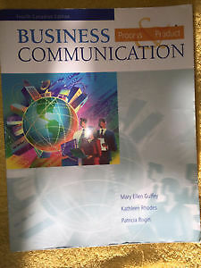 Business Communication: Process and Product 4th edition