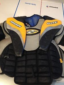 Hockey goalie chest protector and pants