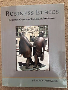 Business Ethics: Concepts, Cases, and Canadian Perspectives.