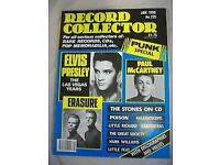 RECORD COLLECTOR -160 MAGAZINES ALL GOOD CONDITION