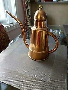 New pure brass big coffee maker pot