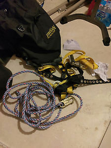 Roofing Harness & Lifeline kit
