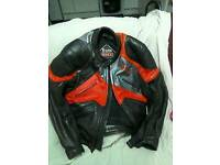 For sale mens leather bike jacket