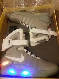 Nike air mag trainers size 10 back to the future 2 trainers