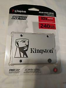 BRAND NEW SEALED !!! Kingston UV400 2.5 240GB  Solid State Drive (SSD)