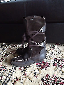 Geox leather brown women winter boots size 8. AVAILABLE Gatineau Ottawa / Gatineau Area image 1