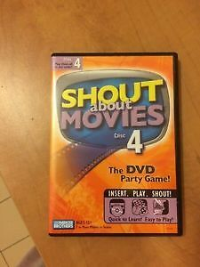 Shout About Movies #4 - DVD party game Windsor Region Ontario image 1