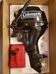 Brand New 9.8 HP Coleman 2017 never used $ 2,100.00