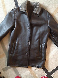 Danier genuine leather jackets size S and L
