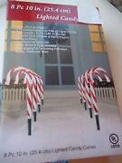 Outdoor Candy Canes