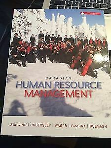 Canadian human resource management 11th edition