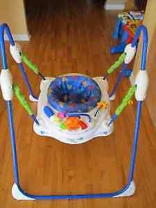 Jumperoo - exerciseur pour bébé