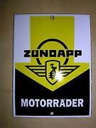 Emailschild Motorrad