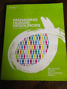 Managing Human Resources 7th Canadian Edition Kitchener / Waterloo Kitchener Area image 1