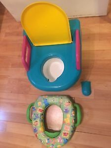 Potty by Safety 1st and Training Seat