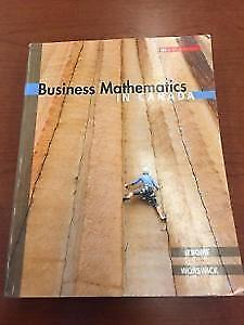 Business Mathematics in Canada 8th Edition