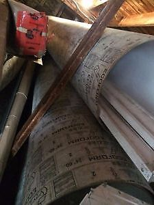 """NEW-24"""" X 15' Sonotubes 10 available"""