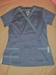 New Women's Health Pro Scrub Top in Navy (Size S)