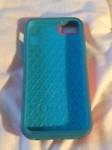 Pink/Blue Otterbox for iPhone 5S/SE- Never Used