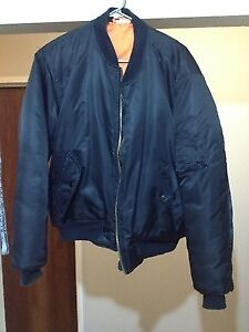 Mens large flight/bomber jacket