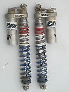 PEP LTD Mass Front Shock Piggyback NAR 8 Click Yamaha Raptor 250 08 09 10 11 12