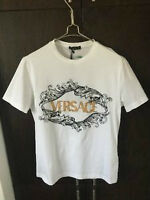 Versace T Shirt (Black & Gold Embroidery)
