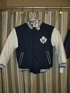 NEW Reversible sz 8-10 Mapleleaf Jackets Good Quality (tags att)