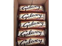 Galaxy Chocolate bars (box of 18)