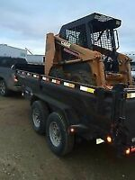 S.S.C - Renting skid steers and dump trailers