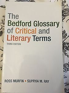 The Bedford Glossary of Critical and Literary Terms 3rd Edition