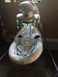 Fisher Price Little Lamb Swing Sarnia Sarnia Area image 1